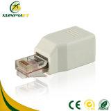 Portable PVC Female RJ45 Data Network Connector