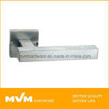 Stainless Steel Door Handle on Rose (S1121)