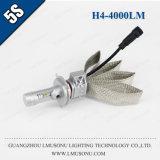 Lmusonu 5s H4 LED Headlight High Low Beam 12V 35W 4000lm Fanless Stable Quality