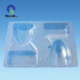 Transparent Thermoformed PVC Blister Packaging Clamshell