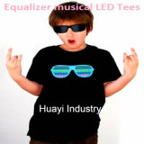 Rave Music Flashing Tee Shirts Wholesale