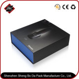 Bronzing Rectangle Gift Paper Packing Box for Electronic Products