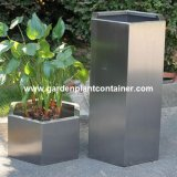 Fo-9035 Hexagon Stainless Steel Plant Pots
