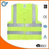High Visibility Safety Vest with Zipper and ANSI/ Isea Standard