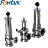 Food Grade Stainless Steel Sanitary Safety Pressure Relief Valve
