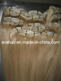 100% European Remy Clip in Human Hair Extension