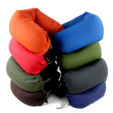Promotional Air Inflatable Pillow U Shape Neck Rest Air Inflatable Travel Plane Train