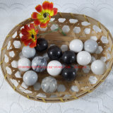 White with Grey Veins Marble Balls /Stone Balls/ Stone Easter Eggs