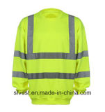 Custom Safety Reflective High Visibility Sweatshirt with En ISO