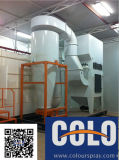 Fast Color Change Powder Booth -Big Cyclone Recovery System