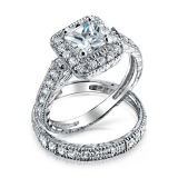 Hot Sales 925 Sterling Silver Wedding Rings Jewelry