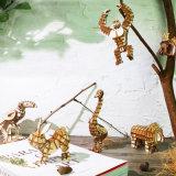 Creative Assemble Wooden 3D Panda Puzzle Children Early Educational Toys