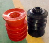 PDC Drillable Non-Rotating Rubber Cement Plug with Phenolic Core