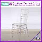Clear Resin Tiffany Chair for Rental