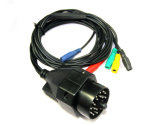 OBD for BMW 20 Pin OBD1 to Kts Pin Banana Plug