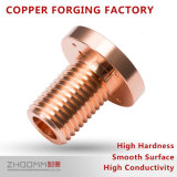 Electrical Automobile Parts / Forged Brass and Copper Auto Parts
