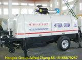 100m3/H Diesel Trailer Concrete Pump -Hongda Group