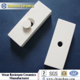 Abrasion Resistant Porous Alumina Plate for Pipe Linings