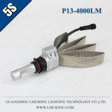 Lmusonu LED 5s Car Headlights Super Bright P13 LED Headlight Kit Car LED Headlight