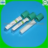 Green Cap Blood Test Tube