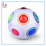Promotion DIY Toy Puzzle Magic Rainbow Football Decompression Cube Gift