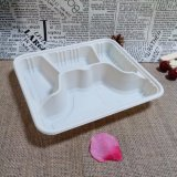 Biodegradable Food Tableware China Disposable Cornstarch Tray