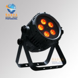 Rasha Hot Sale 5*10W 4in1 RGBW Alunium LED PAR Can Waterproof LED PAR Light Outdoor LED Stage Light