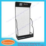 Customized Metal Floor Standing Black Wire Panel Display Stand