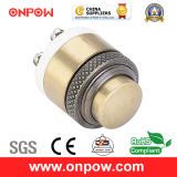 Onpow 16mm Doorbell Push Button Switch (GQ16M-10, CE, CCC, RoHS)