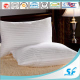 OEM ODM Stripe Jacquard Fabric Neck Pillow for Hotel