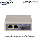 3 Ports 100Mbps Ethernet Switch with 1 Sc Port (SW0201SC)