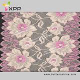 Spandex/Nylon Jacquard Elastic Color Lace