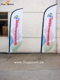 2.8m Exhibition Aluminium Digital Printing Swooper Flag/Flying Flag/Sail Flag