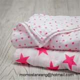 Soft Cotton Muslin Baby Blanket Swaddle Blanket with High Quality