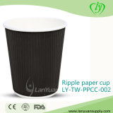 Disposable Ripple Paper Cup for Coffee