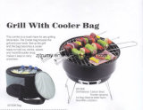 Popular Camping Mini Portable BBQ Grill with Cooler Bag
