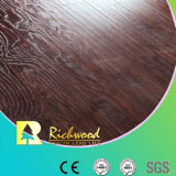 Commercial E1 HDF AC4 Embossed Elm V-Grooved Waterproof Laminate Flooring