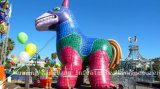 Cartoon Pinata Inflatable Horse for Advertising