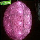 Diamond Christmas LED Ball Decorative Light From Factory