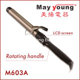 Factory Hot Sell Rotating Hair Curling Iron (M603A)