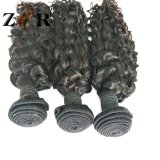 Kinky Curly Hair Weave Brazilian Virgin Human Hair Extensions