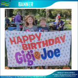 Birthday Decoration Vinyl Digital Printed Banner Flag (M-NF26P07024)