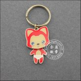 Promotional Enamel Key Chain of Gold Plated (GZHY-YSK-0028)