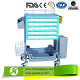 Comfortable Medical ABS Device Nursing Trolley