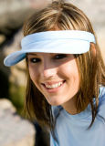 Sports Visors with Adjustable Magic Tape Strap for Ultimate Comfort