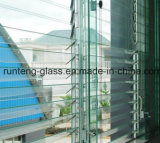 6mm Toughended Flat Acid Etched Glass for Doors and Windows