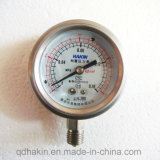 Vibration Proof Stainless Steel Pressure Gauge for Good Selling