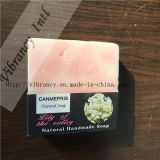 Square Shape Red Plant Hotel Soap