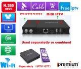 The Latest Ipremium IPTV Box Combined with TV Tuners (DVB-S/T/C/ISDBT)