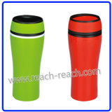 Double Wall 100% Leak Proof Auto Seal Plastic Travel Mug (R-2331)